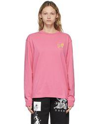 Brain Dead Pink Goop Long Sleeve T-shirt