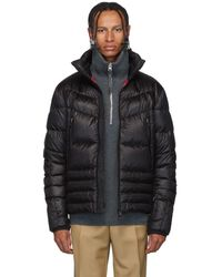 3 MONCLER GRENOBLE Black Canmore Puffer Jacket