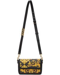 Versace Jeans Couture - ブラック Barocco Lula バッグ - Lyst