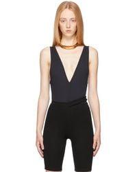 Vejas Maillot One-piece Swimsuit - Black