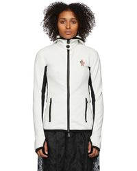 3 MONCLER GRENOBLE White Maglia Jacket