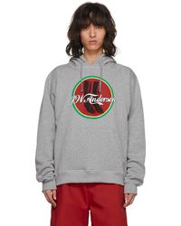 J.W. Anderson   Grey Cola Boots Hoodie   Lyst