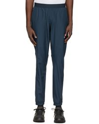 Asics Blue Visibility Lounge Pants