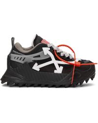 Off-White c/o Virgil Abloh Odsy Sneakers - Black