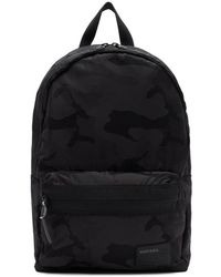 DIESEL Black Camo Discover Mirano Backpack