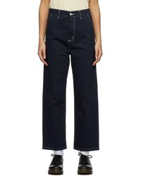 Carhartt WIP Navy Armanda Jeans - Blue