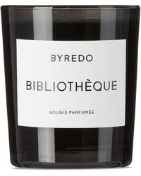Byredo Byo Bibliothèque Candle, 2.4 Oz - Black