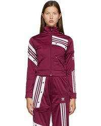 adidas Originals Danielle Cathari Edition パープル トラック ジャケット