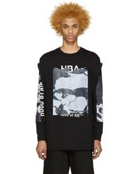 Hood By Air T-shirt noir Raw Box Squared