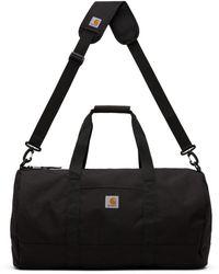 Carhartt WIP Black Wright Duffle Bag