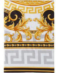 Versace ブラック & ゴールド Medusa デュベ カバー クイーンサイズ - メタリック