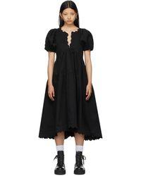 Kika Vargas Ssense 限定 ブラック Leana ドレス