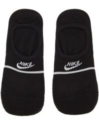 Nike ブラック エッセンシャル Snkr Sox ノーショウ ソックス 2 足 セット