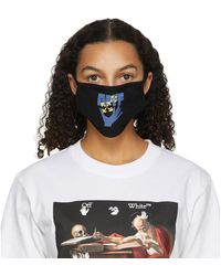 Off-White c/o Virgil Abloh Masque noir Hand and Arrows