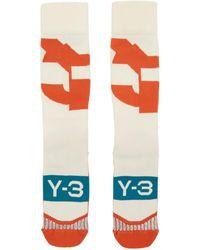 Y-3 マルチカラー ロゴ テック ソックス