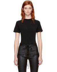 Unravel - Black Boy T-shirt Bodysuit - Lyst