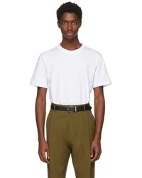 Lhomme Rouge - White Needs T-shirt - Lyst