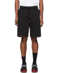 Marcelo Burlon - Black And Gold Muhammad Ali Edition Series Shorts - Lyst
