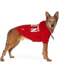 DSquared² Poldo Dog Couture Edition レッド アイコン オタワ フーディ