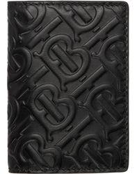 Burberry Black Monogram Noah Card Holder