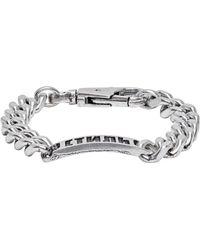 Heron Preston Ssense Exclusive Silver 'style' Bracelet - Metallic