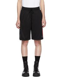 Marcelo Burlon - Black Nba Band Shorts - Lyst