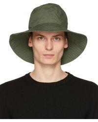Engineered Garments - カーキ Dome ハット - Lyst