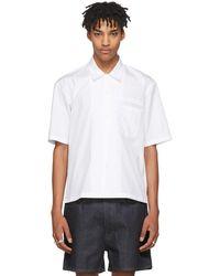 Maison Margiela | White Bowling Shirt | Lyst