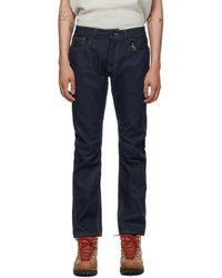 Reese Cooper Blue Raw Denim Jeans