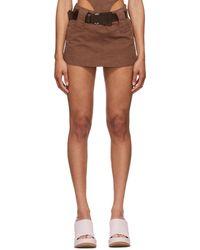 CHARLOTTE KNOWLES - Purple Andara Miniskirt - Lyst