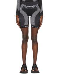 MISBHV Black Active Sport Shorts