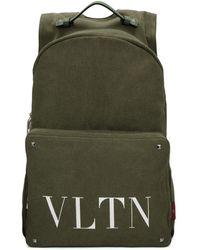 Valentino - Green Garavani Vltn Backpack - Lyst