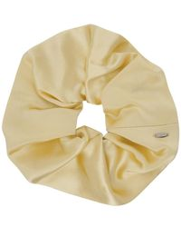 Sophie Buhai Yellow Elegant Scrunchie