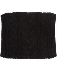 Balmain - Black Large Twist Scarf - Lyst