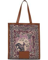 Paul Smith Black & Tan Cowboy Tote - Multicolour