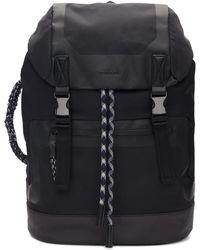 DIESEL - Black Suse Backpack - Lyst