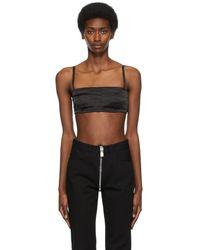 Givenchy Satin Bra - Black
