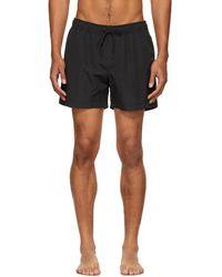 Tiger Of Sweden Black Sjo Shorts