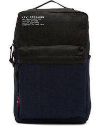 Levi's ブルー デニム バックパック