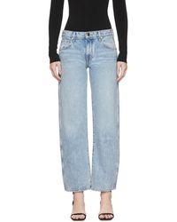 Khaite Blue The Kerrie Jeans