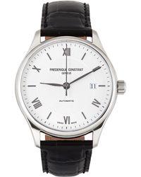 Frederique Constant ブラック & シルバー Classics Index 腕時計 - メタリック