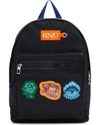 KENZO - Black Go Tigers Capsule Backpack - Lyst