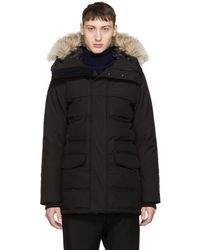 Canada Goose - Black Down Black Label Clarence Parka - Lyst