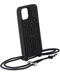 Moncler Genius Étui pour iPhone 12 et iPhone 12 Pro noir en silicone 5 Moncler Craig Green