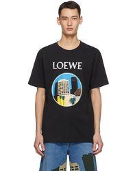 Loewe Ken Price Edition ブラック La T シャツ