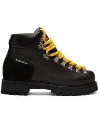 Proenza Schouler - Black Hiking Boots - Lyst