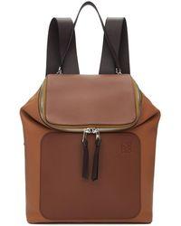 Loewe - Brown Goya Backpack - Lyst