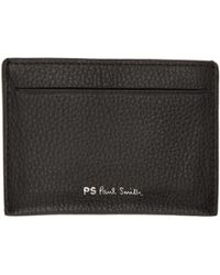 PS by Paul Smith | Black Multistripe Card Holder | Lyst