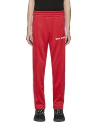 Palm Angels - Red Classic Track Pants - Lyst