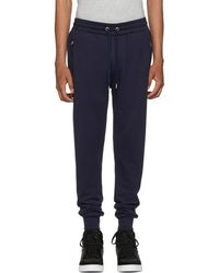 Burberry - Navy Haleford Lounge Trousers - Lyst